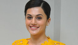 Tapsee @ Ghazi Trailer Launch - Pictures