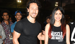 Tiger Shroff and Adah Sharma grace the 'Super Soccer Tournament' finals - Pictures