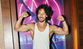 Tiger Shroff snapped during the film promotions of Munna Michael