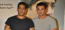 Tubelight Trailer launch by Salman and Sohail Khan