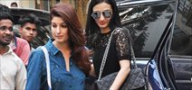 Twinkle Khanna and Anu Diwan snapped in Bandra