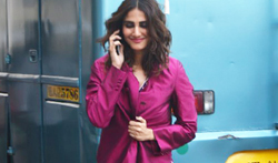 Vaani Kapoor snapped during a magazine shoot at Mehboob Studio - Pictures