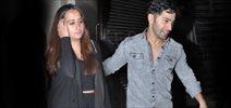 Varun Dhawan snapped with his rumoured GF Natasha post dinner at Bastian Restaurant in Bandra