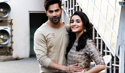 Varun and Alia promote Badrinath Ki Dulhania - Pictures