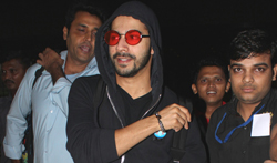 Varun Dhawan returns back from Budapest shoot - Pictures