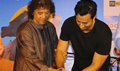 Zakir Hussain and Arijit Singh unveil the music album of Rahul Bose's film 'Poorna'