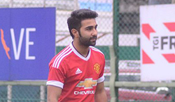 Aadar Jain snapped at football practice - Pictures