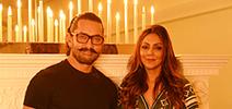 Aamir Khan visits Gauri Khan's new design store