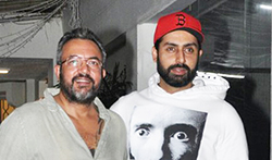 Abhishek Bachchan snapped post Haseena Parkar screening - Pictures