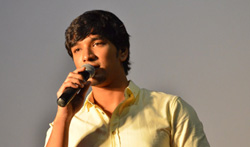 Actor Gautham Karthik Press Meet - Pictures
