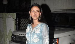 Aditi Rao Hydari snapped post Eid celebrations at Shabana Azmi house - Pictures