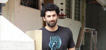 Aditya Roy Kapur snapped post meeting at Matrix office