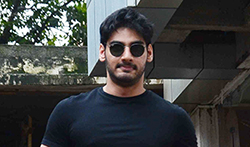 Ahan Shetty snapped in Bandra - Pictures