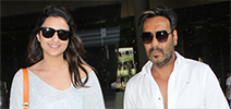 Ajay Devgn and Parineeti Chopra snapped at the airport