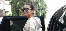 Alia Bhatt snapped post meeting at Vishesh Films office