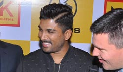 Allu Arjun Launches Buffalo Wild Wings - Pictures