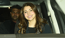 Anushka Sharma snapped sporting a new hair style after her salon session in Juhu - Pictures
