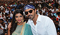 Arjun Rampal and Aishwarya Rajesh launch 'Aala Re Aala Ganesha' from 'Daddy' at Dahi Handi celebrations