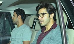 Ranbir Kapoor, Arjun Kapoor, Aditya Roy Kapur, Varun Dhawan snapped post dinner at Karan Johar's house - Pictures