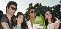 Arjun Rampal, Sunny Leone and others grace the sapling plantation drive
