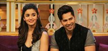 Varun, Alia promote Badrinath Ki Dulhania on The Kapil Sharma Show