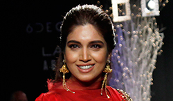 Bhumi Pednekar walks for Rucera at Lakme Fashion Week 2017 - Pictures