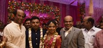 Rajinikanth at Vagai chadrasekar Sir's Family Wedding Reception