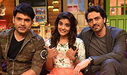 Arjun Rampal and Aishwarya Rajesh promote Daddy on The Kapil Sharma Show - Pictures