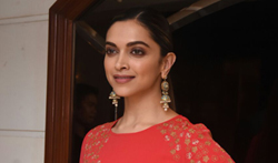 Deepika Padukone at Padmavati promotions - Pictures