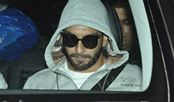 Ranveer Singh, Deepika Padukone and Varun Dhawan snapped post dubbing at Sunny Super Sound - Pictures