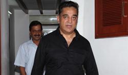 Delhi CM Arvind Kejriwal Meets Kamal Haasan - Pictures