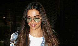 Deepika Padukone snapped at the airport - Pictures