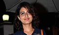 Fatima Sana Shaikh snapped post salon session at B'blunt Bandra
