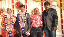 Gana Ulaganathan Daughter wedding Reception - Pictures