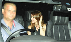 Gauri Khan, Sussanne Roshan & Maheep Kapoor snapped post dinner at Karan Johar's house - Pictures