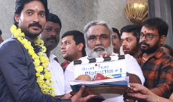 Giant Films Production No 1 Movie Pooja - Pictures