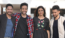 Golmaal Again team shoots with Bheem and Oggy and the Cockroaches - Pictures