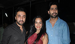 Haseena Parkar Screening at PVR Juhu  - Pictures