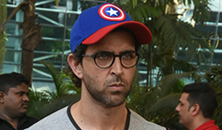 Hrithik Roshan and Sussanne Khan return from Goa - Pictures