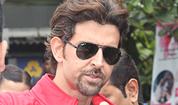 Hrithik Roshan snapped at Akro Gym - Pictures