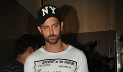 Hrithik Roshan & Sussanne Roshan with kids snapped post a movie screening at PVR Juhu - Pictures