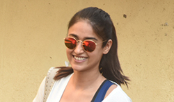 Ileana D'Cruz snapped outside her gym - Pictures