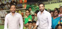 'Inter-Orphan Sports Meet' for special children by Santhanam on his Birthday