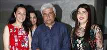 Javed Akhtar at launch of Kainaz Jussawala's book