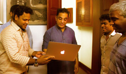 Actor Kamal Haasan launched Padaiveeran Single Track - Pictures