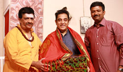 Kamal Haasan at YGM's Kasethan Kadavulada 65th Stage Show - Pictures