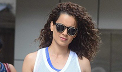 Kangana Ranaut and Nimrat Kaur snapped in Bandra - Pictures