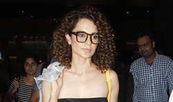 Kangana Ranaut snapped at the airport - Pictures