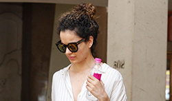 Kangna Ranaut snapped post visit to skin clinic in Bandra - Pictures