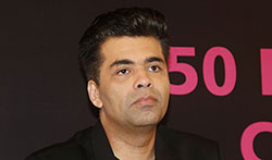 Karan Johar unveils a book on bollywood by Shubhra Gupta - Pictures